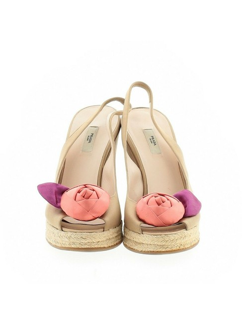 Item - Gold Satin Wedges Size EU 38 (Approx. US 8) Regular (M, B)