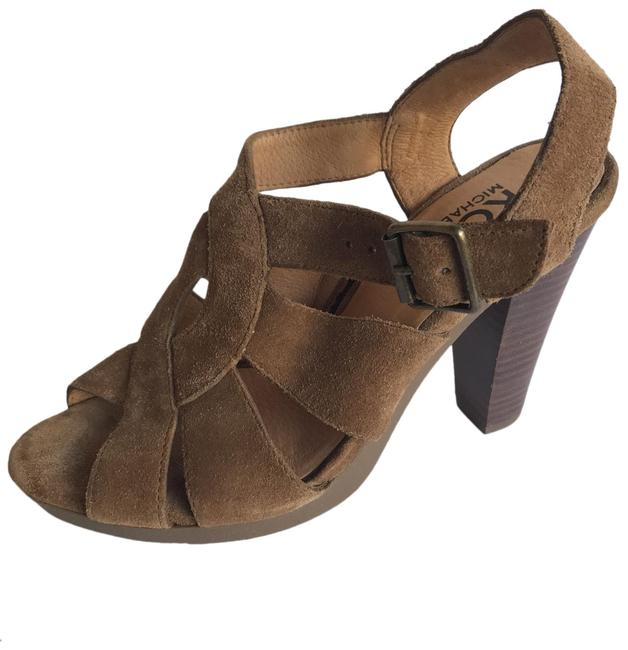 Item - Brown Suede Leather Sandals Size US 6.5 Regular (M, B)
