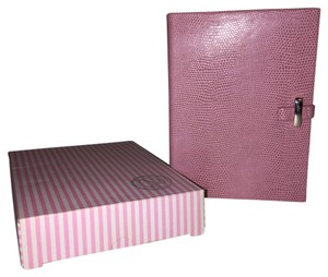 Things Remembered Pink Faux Reptile Writing Journal [ Roxanne Anjou Closet ]