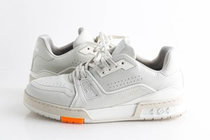 Louis Vuitton White Lv Trainer Sneakers Shoes