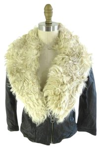 DOMA Goat Fur Moto Motorcycle Jacket