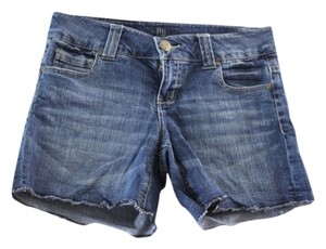 GP Jeans Denim Shorts-Medium Wash