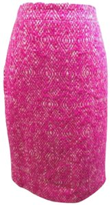 J.Crew Party Classic Pencil Skirt Pink
