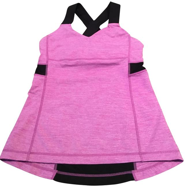 Item - Pink and Black Activewear Sports Bra Size 6 (S, 28)
