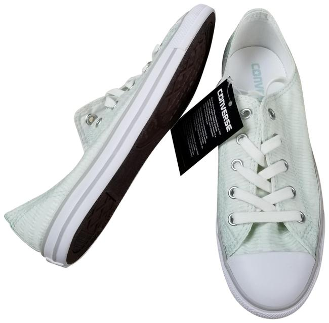 Item - Green Chuck Taylor All Star Dainty Low Top Sneakers Size US 6.5 Regular (M, B)