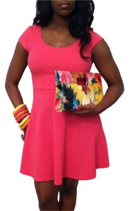What's Hot short dress hot pink on Tradesy