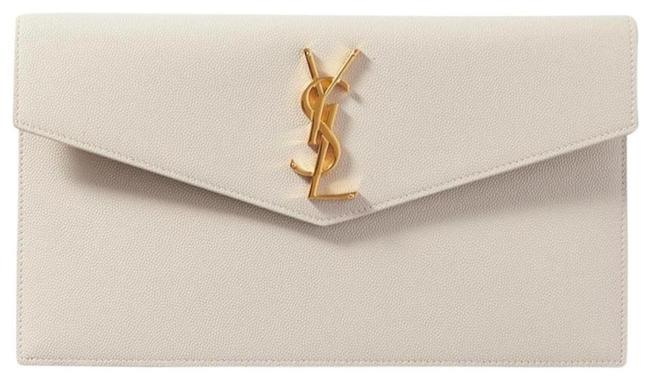 Item - Off White Clutch New Ysl Purse Pouch Leather Envelope Bag Wallet