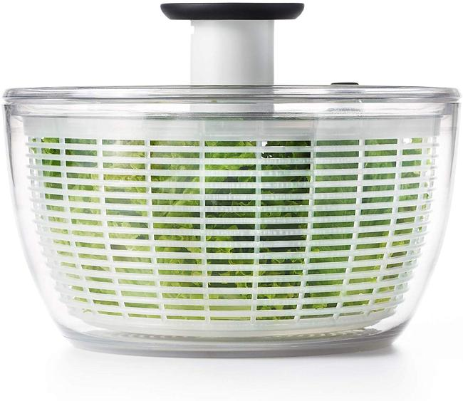 Clear Good Grips Salad Spinner Large Kitchen Electronics Clear Good Grips Salad Spinner Large Kitchen Electronics Image 5
