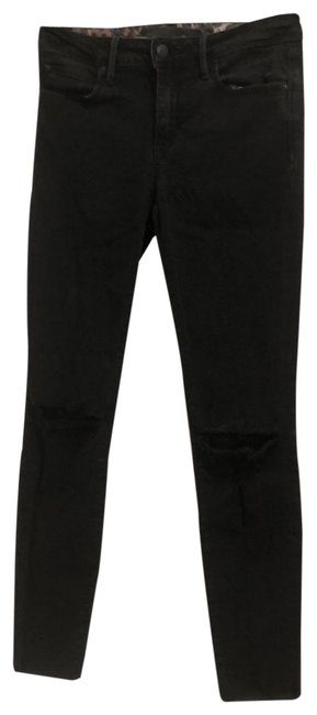 Item - Black Distressed Flawless The Finn Ankle Ankle Skinny Jeans Size 4 (S, 27)