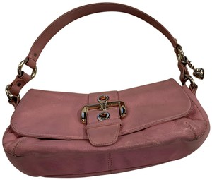 Juicy Couture Leather Vintage Purse Satchel in pink