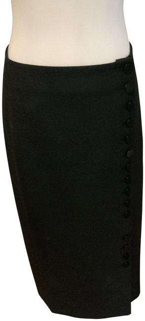 By Malene Birger Black Button Down Detail Skirt Size 6 (S, 28) By Malene Birger Black Button Down Detail Skirt Size 6 (S, 28) Image 1