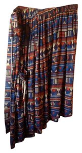 Marc Jacobs Tribal Skirt Multicolor