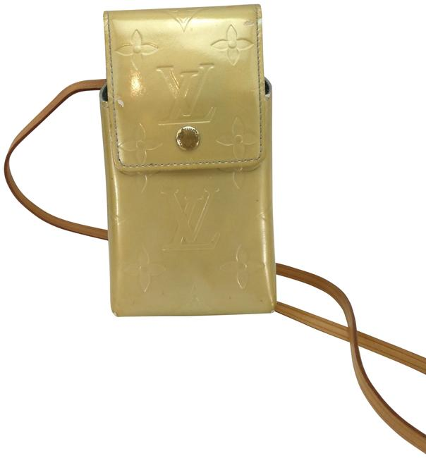 Item - Gold Patent Leather Cross Body Bag
