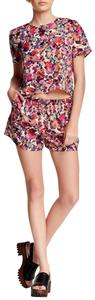 Collective Concepts Collective Concepts Floral Printed Tee & Short Set