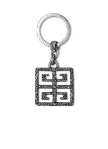 Givenchy Men's Logo 4G Key Chain