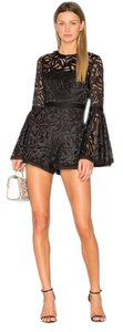 Alexis Revolve Lace Bell Sleeve Sheer Dress