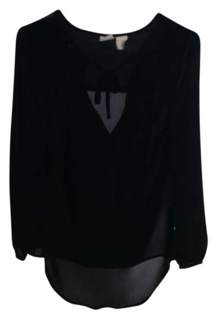 Preload https://item2.tradesy.com/images/mudd-black-blouse-size-4-s-268466-0-0.jpg?width=400&height=650