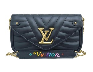 Louis Vuitton Lv New Wave Pochette Calfskin Shoulder Bag