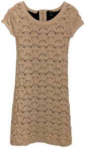 Trouvé short dress Nude Sweater Bodycon on Tradesy