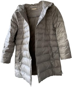Massimo Dutti Down Jacket Sliver Winter Quilted Coat
