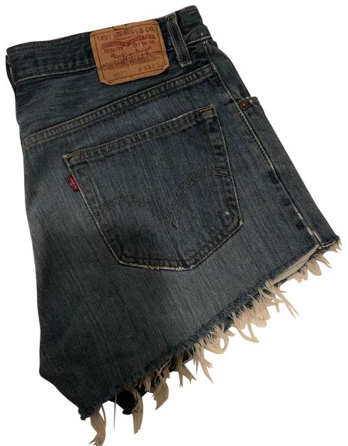 Item - Blue 557 Vintage Cutoff Shorts Size 12 (L, 32, 33)