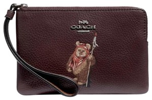 Coach Star Wars X Star Wars Limited Edition Limited Edition Wristlet in Oxblood