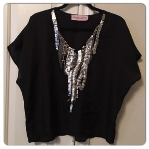 The Impeccable Pig Top Black