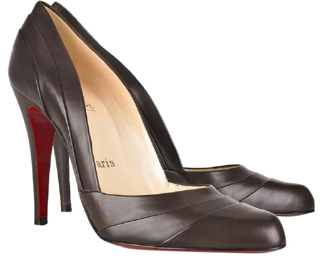 Item - Brown Pleated Calf Leather Insectika Pumps Size EU 38 (Approx. US 8) Narrow (Aa, N)