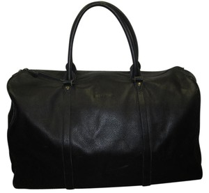 Jil Sander Black Travel Bag