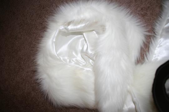 Snowflake BRAND NEW Faux Fur Winter Hat, Black with Paws and Pockets
