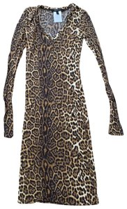BCBGMAXAZRIA short dress leopard on Tradesy