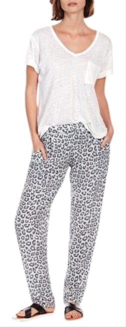 Item - Leopard Silk Pants Size 2 (XS, 26)