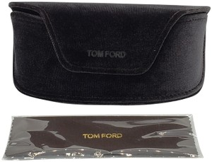 Tom Ford Tom Ford Large Brown Velvet Sunglasses Soft Case & Cleaning Cloth