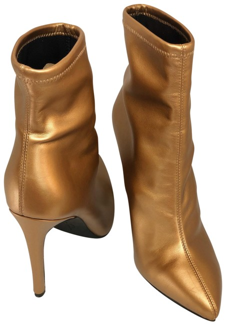 Item - Gold Fashion Boots/Booties Size US 8 Regular (M, B)