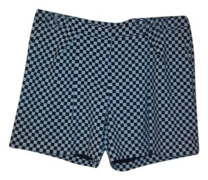 Worthington Dress Shorts Black and white