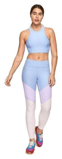 Item - Blue Purple 7/8 Springs In Lilac Lavender Dahli Activewear Bottoms Size 4 (S, 27)