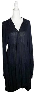 Free People Cut-out Keyhole Frock Loose Knit Dress
