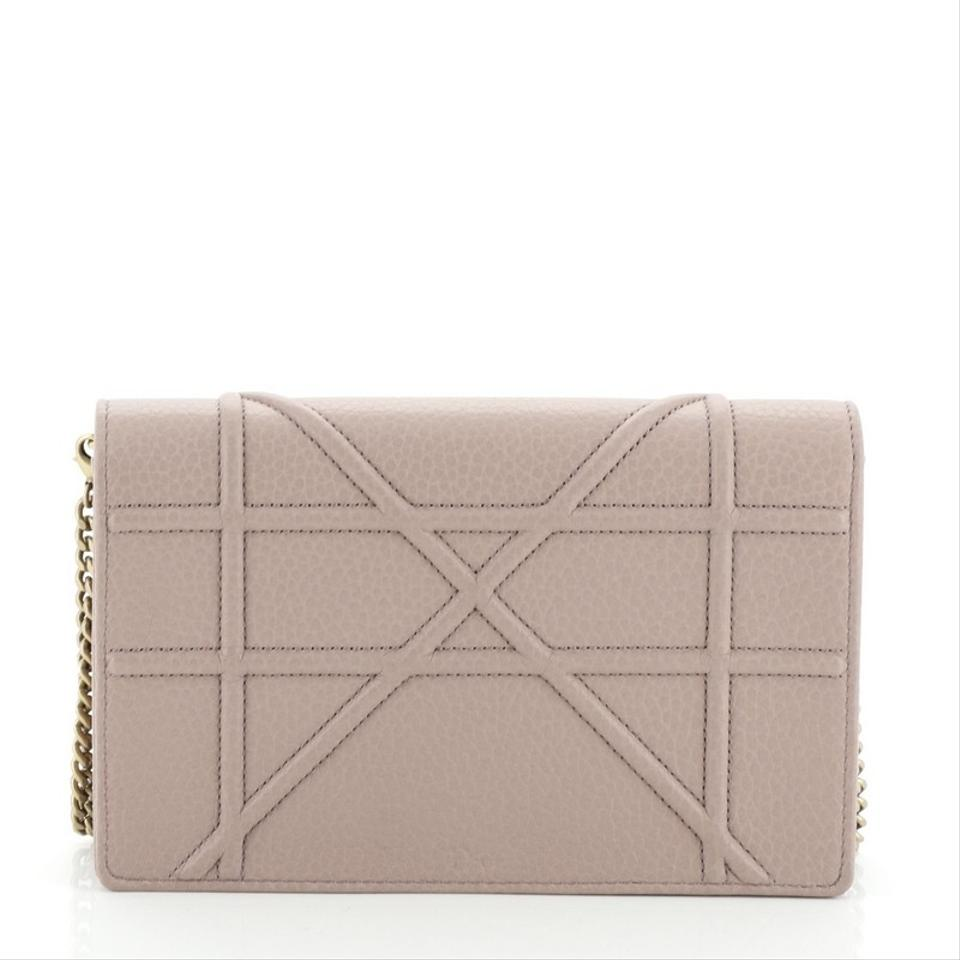 good looking hot new products thoughts on Dior Wallet on Chain Diorama Neutral Leather Clutch - Tradesy