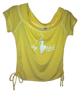 Baby Phat T Shirt Yellow