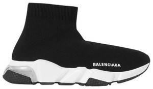 Balenciaga Dad Sneakers Chunky Speed Knit Black Athletic