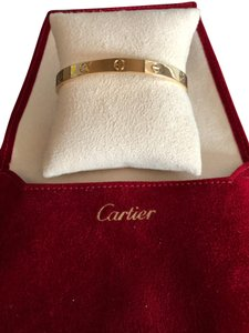 Cartier Cartier Love Cuff Bangle Bracelet in 18K Yellow Gold