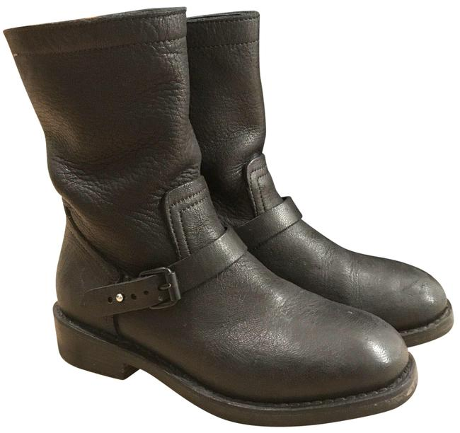 Item - Black New York Women's Oliver Leather Boots/Booties Size US 7 Regular (M, B)