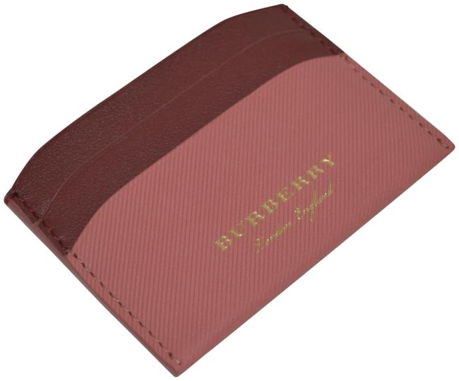 Item - Blossom Pink Multicolour Trench Leather Izzy Card Case Wallet