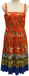 Tory Burch short dress Samba Batik Flower on Tradesy