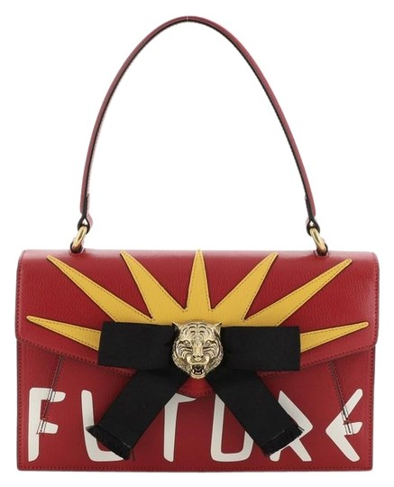 Preload https://img-static.tradesy.com/item/26855872/gucci-osiride-top-handle-bag-printed-with-applique-small-red-leather-baguette-0-1-540-540.jpg