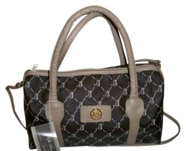 Item - Style# 3002 Brown/Bone Leather Tote