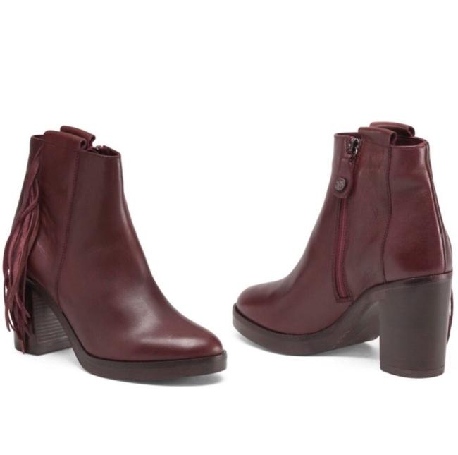 Item - Fabianelli Fringed Leather Boots/Booties Size EU 40 (Approx. US 10) Regular (M, B)