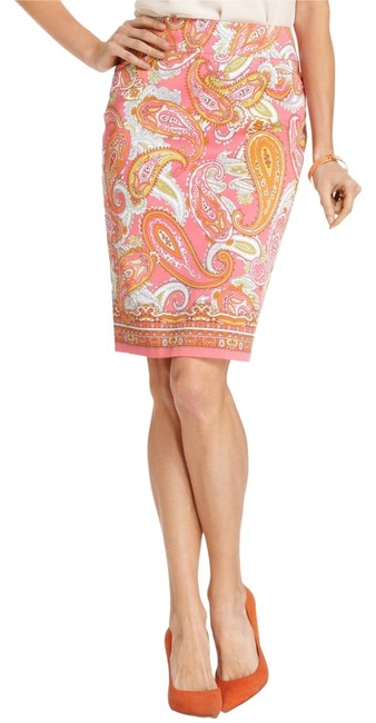 Charter Club Paisley Skirt Pink/Multi