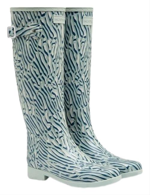 Item - Refined Tall Coral Print Waterproof Boots/Booties Size US 7 Regular (M, B)