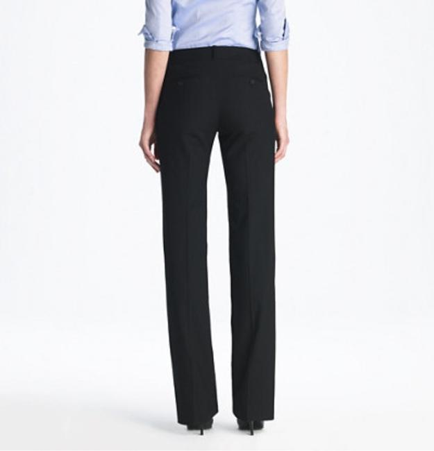 J.Crew NEW J. Crew Super 120s Wool Cafe Trouser Style 60020 Size 0 Navy